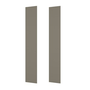 02 Fechamentos Lateral Para Cozinha Modulada Connect C75 100% MDF Duna Henn