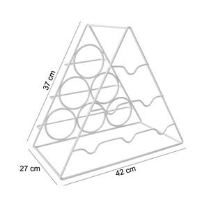 Adega Triangular Portatil Para Garrafas AD301 Branco HKS Milani Store