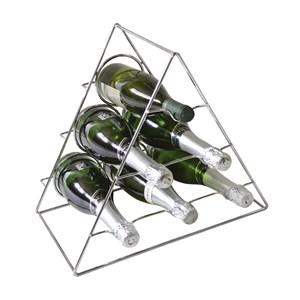 Adega Triangular Portatil Para Garrafas AD301 Cromado HKS Milani Store