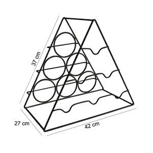 Adega Triangular Portatil Para Garrafas AD301 Preto HKS Milani Store
