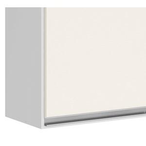 Armario Aereo 3 Portas 120 CM 100% MDF Kali Premium 3042.10 Branco Off White Nicioli