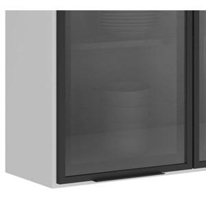 Armario Aereo 3 Portas 120 CM 100% MDF Kali Premium 3042.17 Branco Off White Nicioli