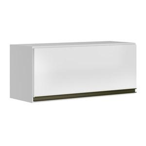 Armario Aereo Basculante 1 Porta 60 CM 100% MDF Kali Premium 3047.1 Branco Nicioli