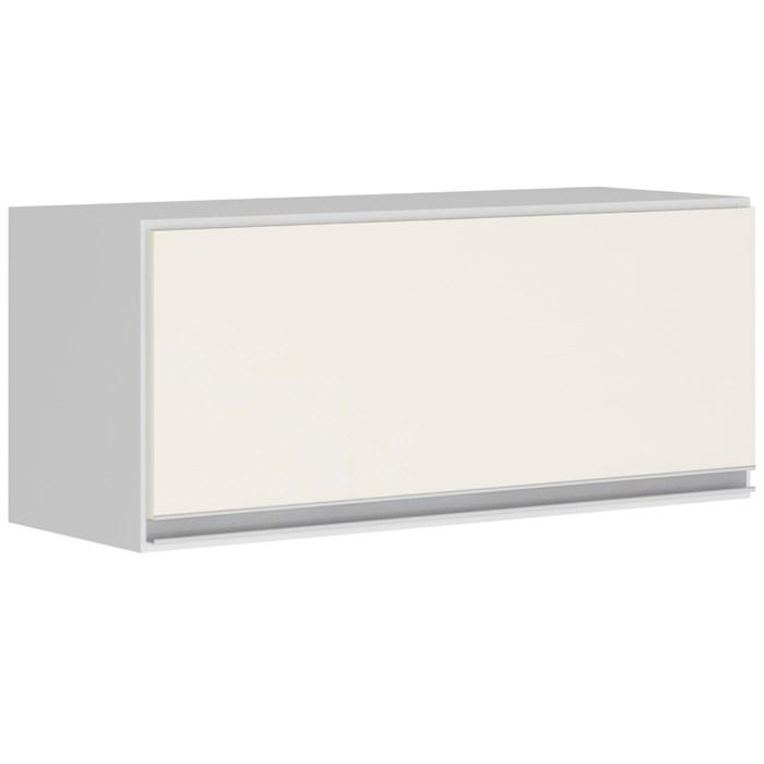 Armario Aereo Basculante 1 Porta 60 CM 100% MDF Kali Premium 3047.1 Branco Off White Nicioli
