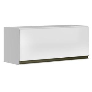 Armario Aereo Basculante 1 Porta 70 CM 100% MDF Kali Premium 3050.1 Branco Nicioli