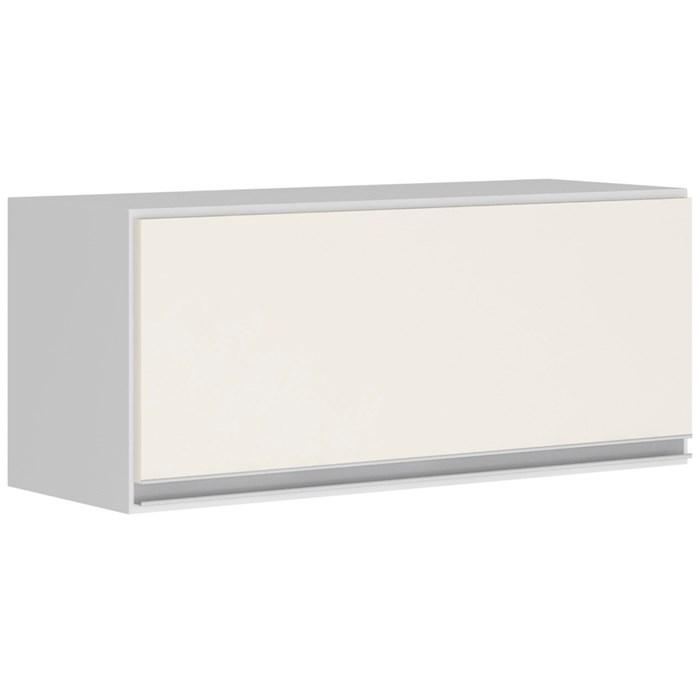 Armario Aereo Basculante 1 Porta 70 CM 100% MDF Kali Premium 3050.1 Branco Off White Nicioli