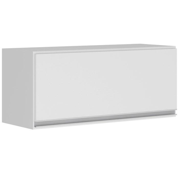 Armario Aereo Basculante 1 Porta 80 CM 100% MDF Kali Premium 3059.1 Branco Nicioli