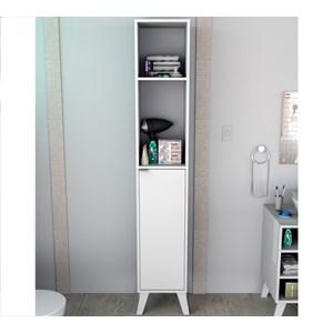 Armario Multiuso 1 Porta Slin ARM5003 Branco APT Milani Store