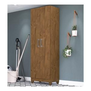 Armario Multiuso 2 Portas New Iris Castanho Wood Moval