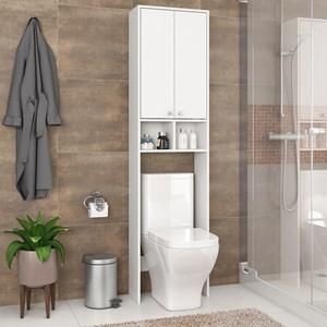 Armario Para Banheiro 02 Portas Branco Fellicci Moveis