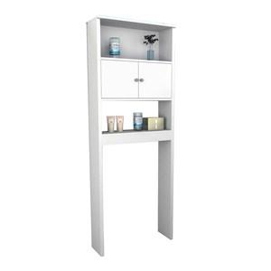 Armario Para Banheiro Slin ARM5004 Branco APT Milani Store