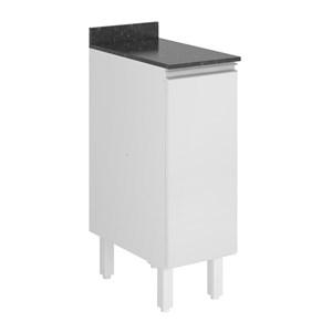 Balcao 1 Porta 30 Cm 100% MDF Kali Premium 3101.21 Branco Nicioli