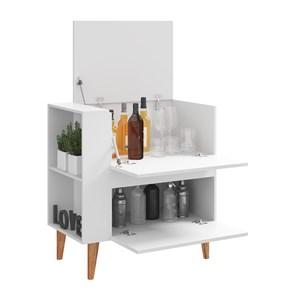 Balcao Bar Drink 1001 Branco Be Mobiliario