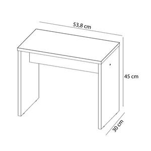 Banqueta 45cm Ideal 9050 Branco Demobile