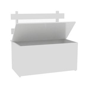 Bau Multiuso 01 Porta CL01 Branco Fellicci Moveis