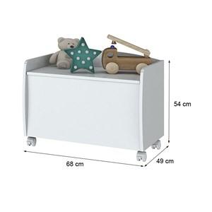 Bau Organizador Aquarela I717 Branco Henn