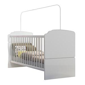 Berço Mini Cama BB520 Branco Completa Móveis