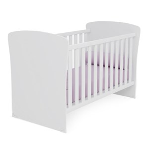 Berço Mini Cama Infantil Doce Sonho 2484 Branco Com Colchao Qmovi