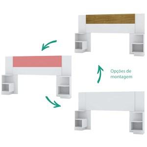 Cabeceira Extensivel 50017 Branco Flex Vila Rica