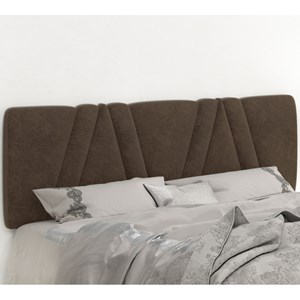Cabeceira Painel Mille 140cm Suede Am Marrom