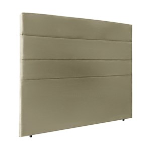 Cabeceira Solteiro 90cm Bia Suede Taupe ID Milani Store