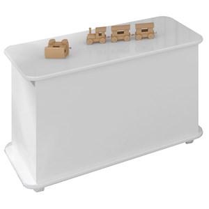 Caixa De Brinquedos BB710 Branco Completa Moveis