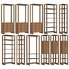 Conjunto Armarios Para Closet 11 Peças Yes EY101/2/3/4/7 Montana Nova Mobile