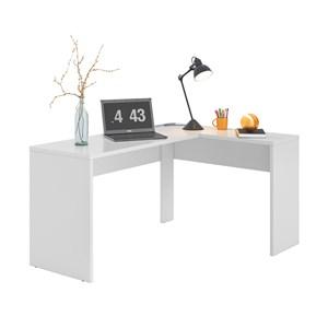 Conjunto Escritorio 03 Peças Office Presence Branco Demobile