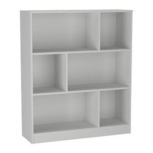 Conjunto Mesa Escrivaninha E Estante Gamer B28 Branco Nova Mobile