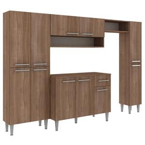 Cozinha Compacta 11 Portas Madri CM11P Teka Fellicci Moveis