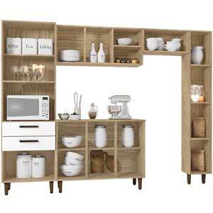 Cozinha Compacta Antonella Cartagena Branco INC Milani Store