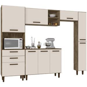 Cozinha Compacta Antonella Teka Champanhe INC Milani Store