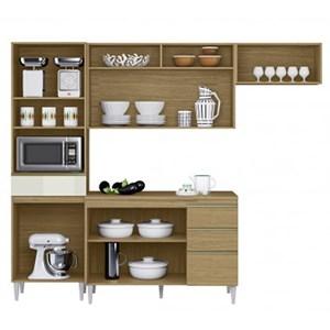 Cozinha Compacta Balcao Com Tampo Thais Atacama Off White ARM Milani Store