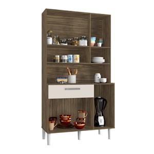 Cozinha Compacta Cancun 06 Portas Teka Champanhe INC Milani Store