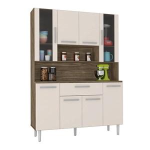 Cozinha Compacta Cancun 08 Portas Teka Champanhe INC Milani Store