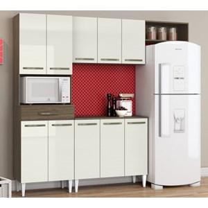 Cozinha Compacta Com Balcao Isadora Ambar Off White ARM Milani Store