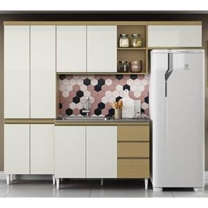 Cozinha Compacta Com Balcao Para Pia Sophia Atacama Off White ARM Milani Store