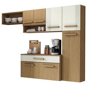 Cozinha Compacta Com Balcao Rubi Atacama Off White ARM Milani Store