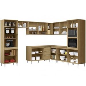 Cozinha Completa Modulada 10 Peças Kelly 02 Atacama Off White ARM Milani Store