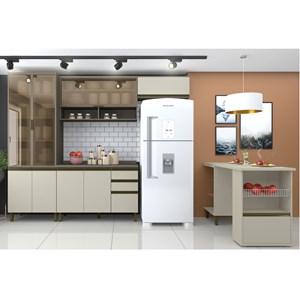 Cozinha Completa Modulada 100% MDF 05 Peças Connect 3 Duna Cristal Henn
