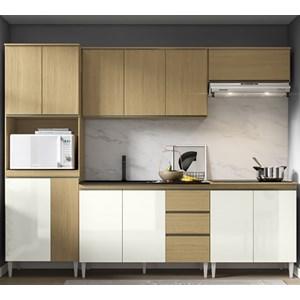 Cozinha Completa Modulada Kelly 05 Atacama Off White ARM Milani Store