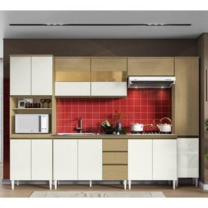 Cozinha Completa Modulada Kelly 07 Atacama Off White ARM Milani Store