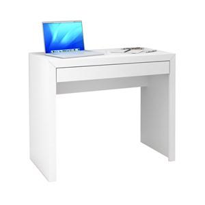 Escrivaninha 01 Gaveta ME4107 Branco Tecno Mobili