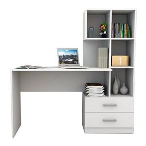 Escrivaninha Com Armario ESC4002 Branco APT Milani Store