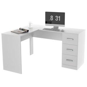 Escrivaninha De Canto Office Plus MES0502 Branco APT Milani Store