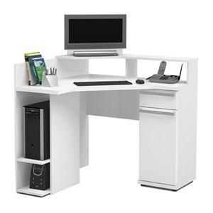 Escrivaninha De Canto Para Computador S975 Branco Kappesberg