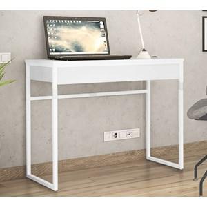 Escrivaninha Estilo Industrial Brisa Branco NB Milani Store