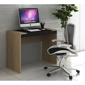 Escrivaninha Para Escritório HO2901 Avelã/Onix Hecol