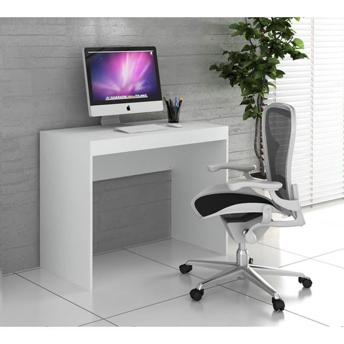 Escrivaninha Para Escritório HO2901 Branco Hecol