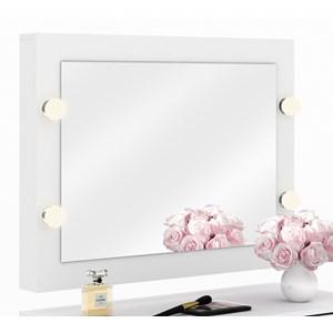 Espelho Camarim De Parede PE2006 Branco Tecno Mobili